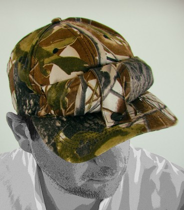 Bug Cap (Camouflage)