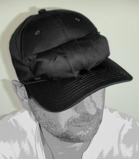 Casquette moustiquaire (noire)