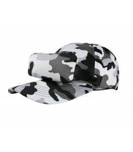 Bug cap CAMO - Grey (new look)